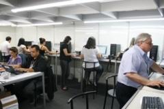 Na Sala de Imprensa Fimec 2011