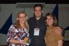 No Sao Leo Open, com a colunista de tênis do Jornal NH, Ana Kich