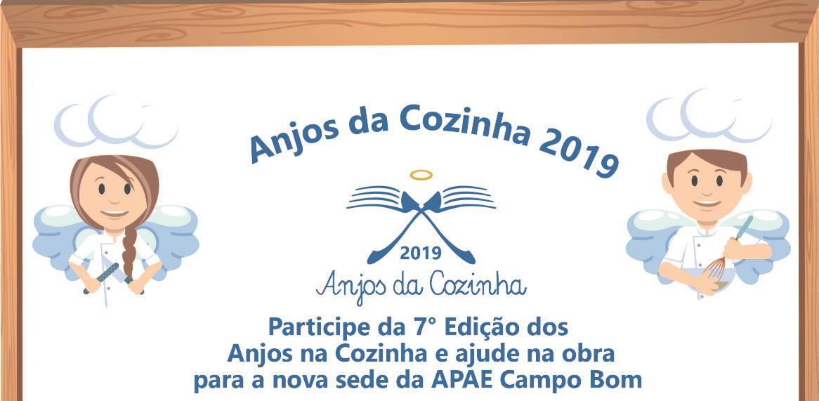 7ª edição do Anjos da Cozinha será realizada no último dia de agosto pela Regional ACI Campo Bom