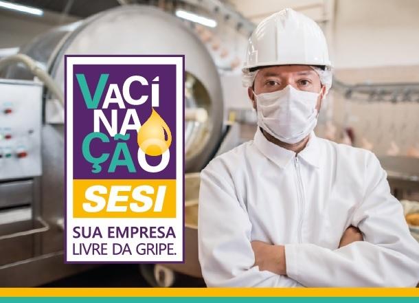 Associadas do Simecan podem aderir à campanha de vacinação do SESI contra a gripe