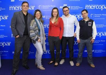 Equipe da Imprensa na Mercopar 2013