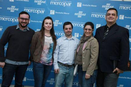 Equipe da Imprensa, na Mercopar 2014