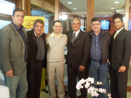 No Programa de Alejandro Malo - agosto 2009