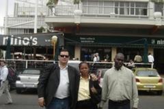 De Zotti em Johannesburgo, África do Sul