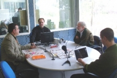 De Zotti como debatedor no Programa 40 minutos, da Rádio ABC 900
