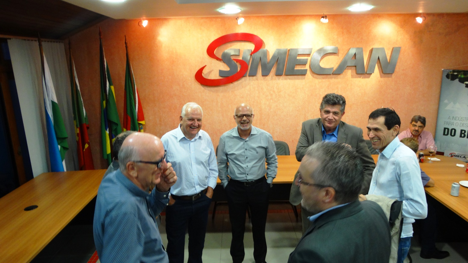 Confraternização de final de ano do Simecan