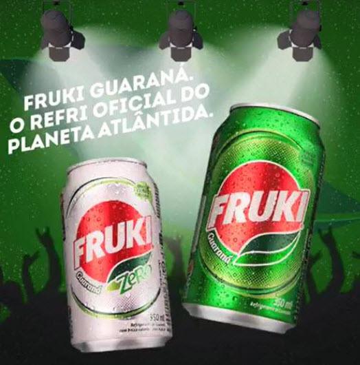 Fruki Guaraná é o refri oficial do Planeta Atlântida