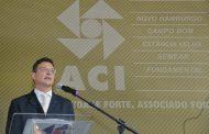 Presidente Marcelo Lauxen Kehl assume a Gestão 2018/2019 da ACI