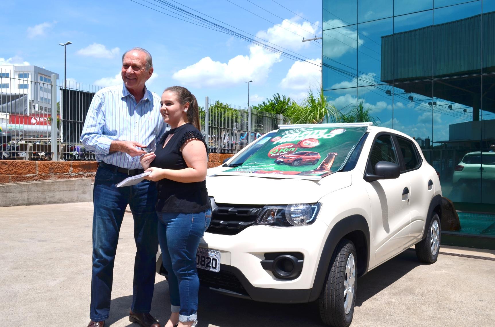 Palpite Premiado Fruki sorteia o primeiro veículo da promoção