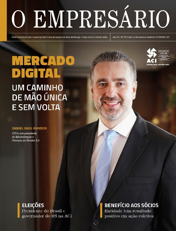 Está circulando a edição de final de ano da Revista O Empresário, da ACI