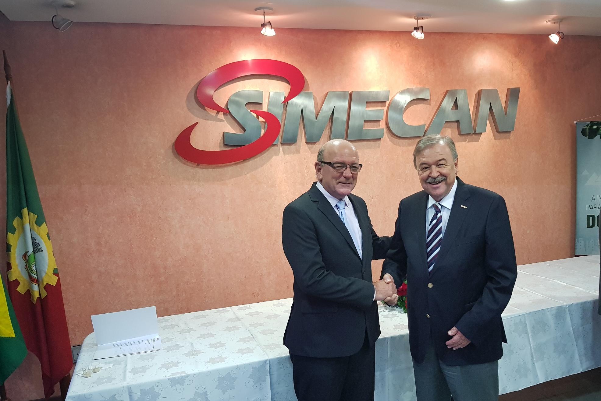 Simecan empossa nova diretoria para o triênio 2018-2021