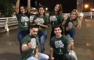 Cervejaria Bellavista distribui porta copos produzidos com material reciclado na saída de jogos do Gauchão