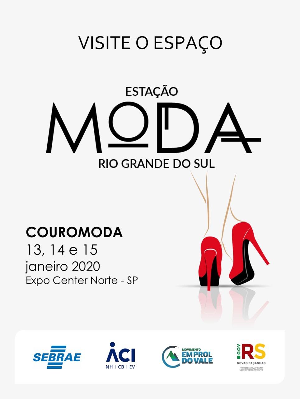 Estação Moda RS estará na Couromoda com 22 expositores