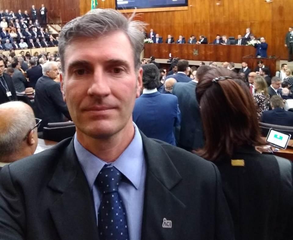 ACI presente na posse do novo presidente da Assembleia do RS