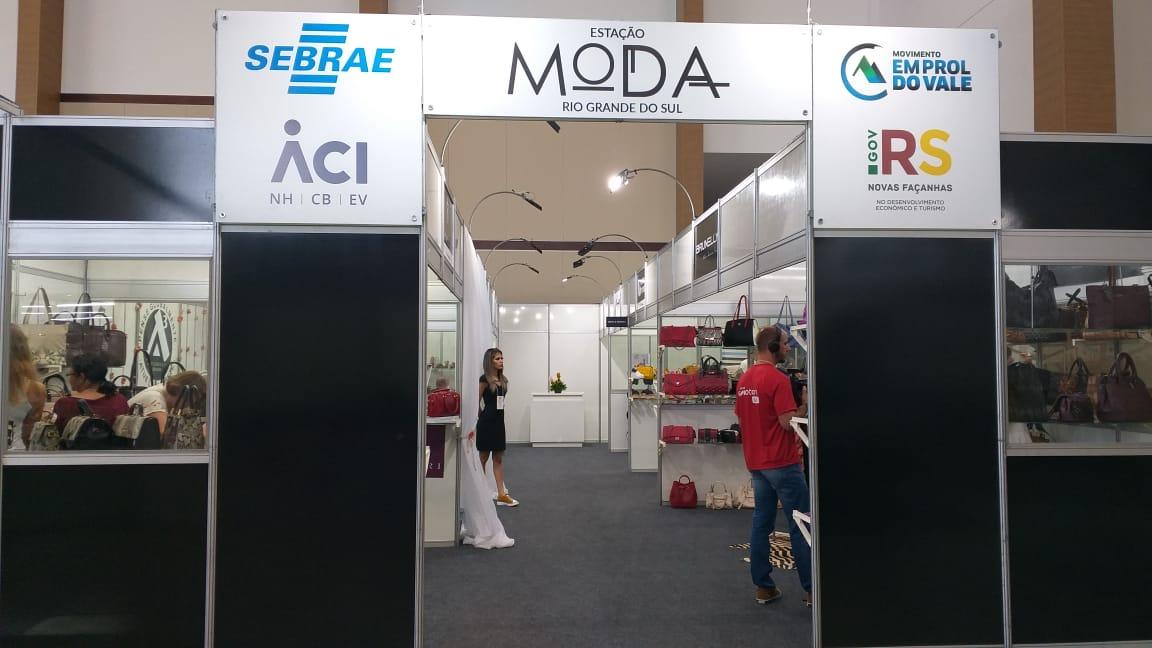 Sete empresas gaúchas estão na 40 Graus, em João Pessoa, pelo projeto Estação Moda RS