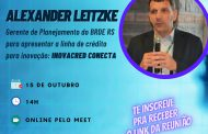 Simecan é apoiador do evento on-line do IEITEC que vai apresentar a linha de crédito Inovacred Conecta do BRDE