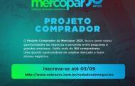Empresas interessadas em participar do Projeto Comprador da Mercopar podem se inscrever até dia 3